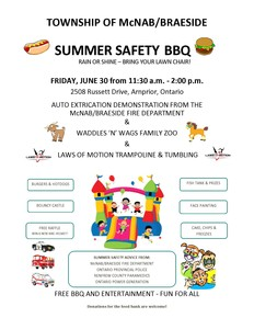 Summer Safety BBQ